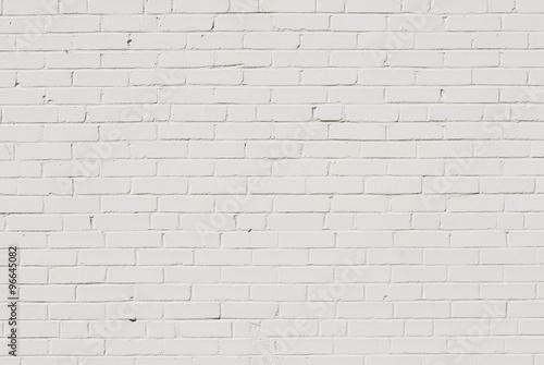 Papiers peints Brick wall white brick wall background