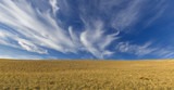 Cirrus clouds in the mountains Khizi.Azerbaiajan