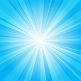 Fototapety blue ray background