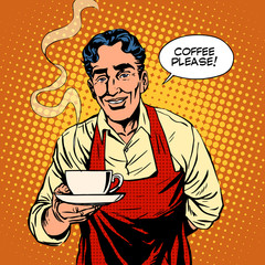 Barista hot coffee