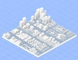 Large modern city - 96690643