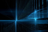 Fototapety Digital technology abstract background