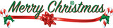 Colorful text with images that says Merry Christmas  - 96716637