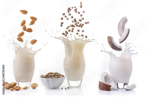 Foto Murales latte vegetale alternativo
