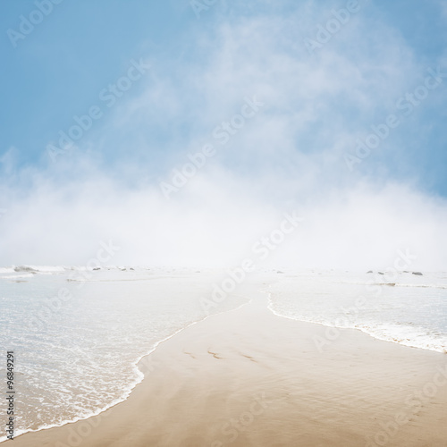 Foggy Seascape - 96849291