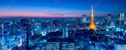 obraz PCV Tokyo Tower, Tokyo, Japan