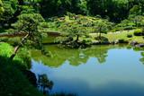 Kiyosumi Gardens in Tokyo