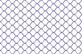 Seamless mesh netting on white background.