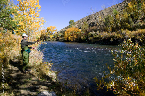 Poster Truckee River Fly Fishing