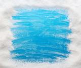 Fototapety Blue winter background