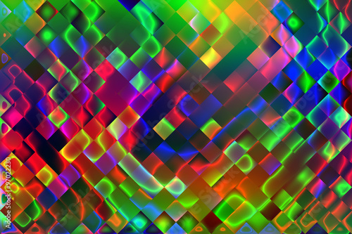 Fototapeta Abstract psychedelic background