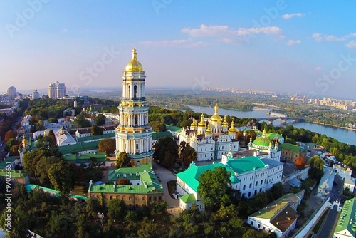 Canvas Kiev Kiev-Pechersk Lavra