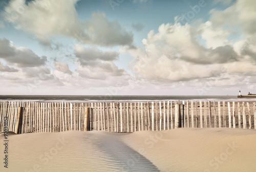 plage le soir - 97030852