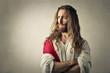 Obrazy na płótnie, fototapety, zdjęcia, fotoobrazy drukowane : Jesus thinking