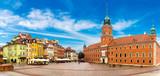 Royal Castle and Sigismund Column in Warsaw - 97034045