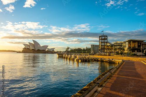 fototapeta na ścianę SYDNEY, AUSTRALIA - MAY 11: Sydney Opera House Iconic of Sydney