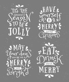 Christmas Typographic Designs Collection - 97058858