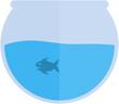 Постер, плакат: аквариум вектор aquarium vector