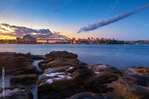 Plakát, Obraz Sydney panorama