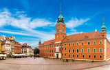 Royal Castle and Sigismund Column in Warsaw - 97113425