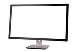 monitor na bílém