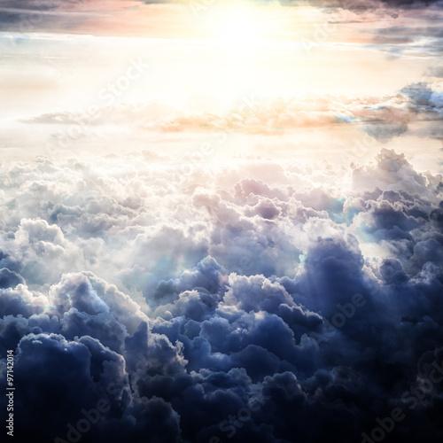sky clouds - 97142014