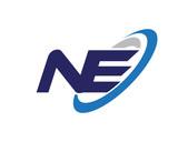 NE Swoosh Letter Logo