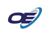 OE Swoosh Letter Logo