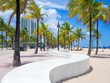 The beach at Fort Lauderdale in Florida