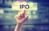 IPO - Initial Public Offering concept