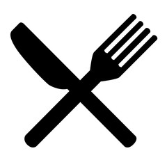Knife and Fork for your restaurant identity