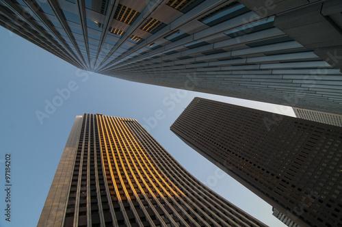 Fototapeta Skyscraper on the Sky