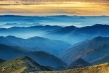 Fototapety Blue mountains and hills