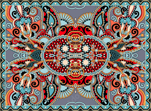 Fototapeta ethnic horizontal authentic decorative paisley pattern for your