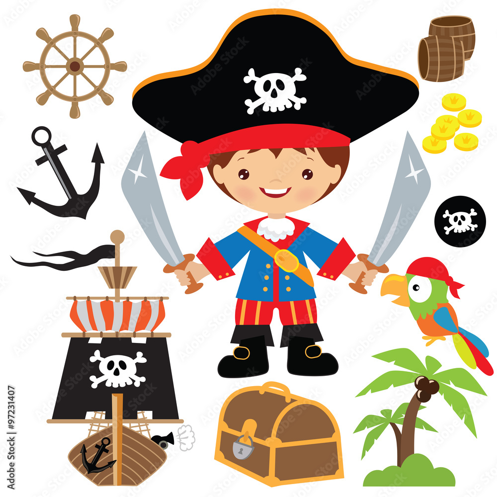 Pirate Captain S Room Background