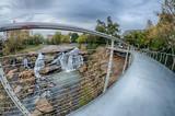 Fototapety downtown of greenville south carolina around falls park