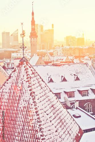 Winter Tallinn Poster