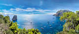 Fototapety Capri island  in Italy