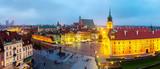 Fototapety Panoramic view of Warsaw