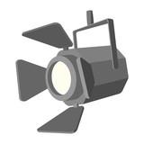Fototapety Movie spotlight cartoon icon