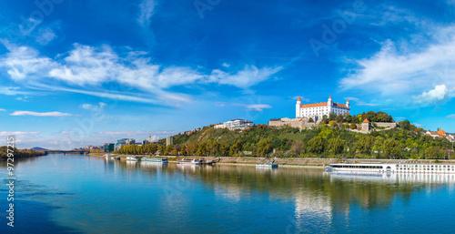 Medieval castle  in Bratislava, Slovakia Poster