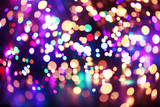 Fototapety Colorful lights background