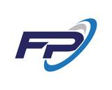 FP Swoosh Letter Logo