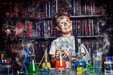 Fototapety dreamy scientist
