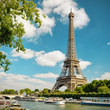 The Eiffel in Paris