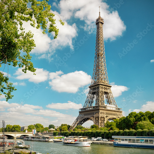 The Eiffel in Paris