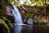 Beautiful Waterfall, serene tranquil landscape