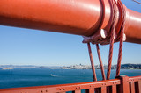 View of San Francisco from the Golden Gate Bridge - 97527881