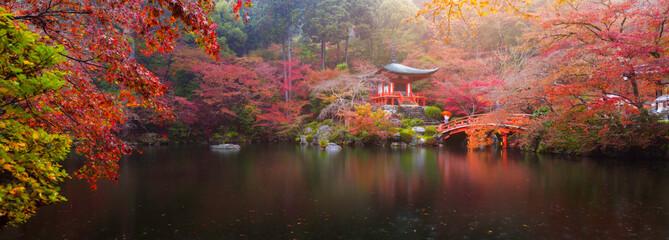 Daigo-ji temple in autumn © Peera