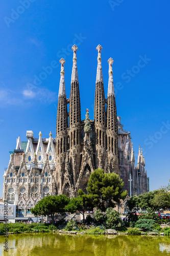 Fotobehang Barcelona Sagrada Familia